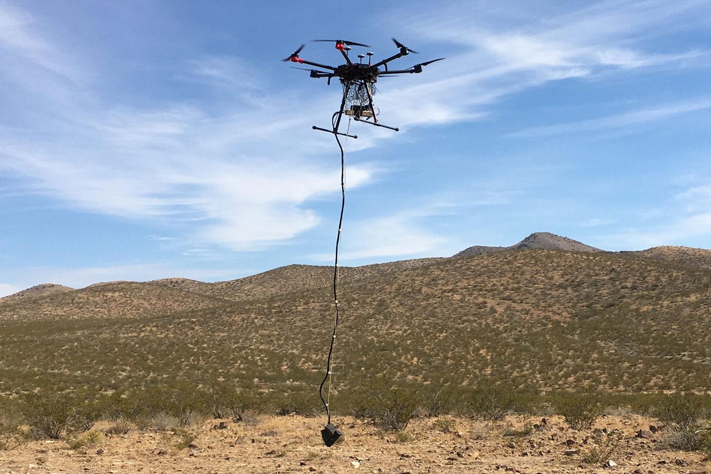UAV High Definition Magnetics