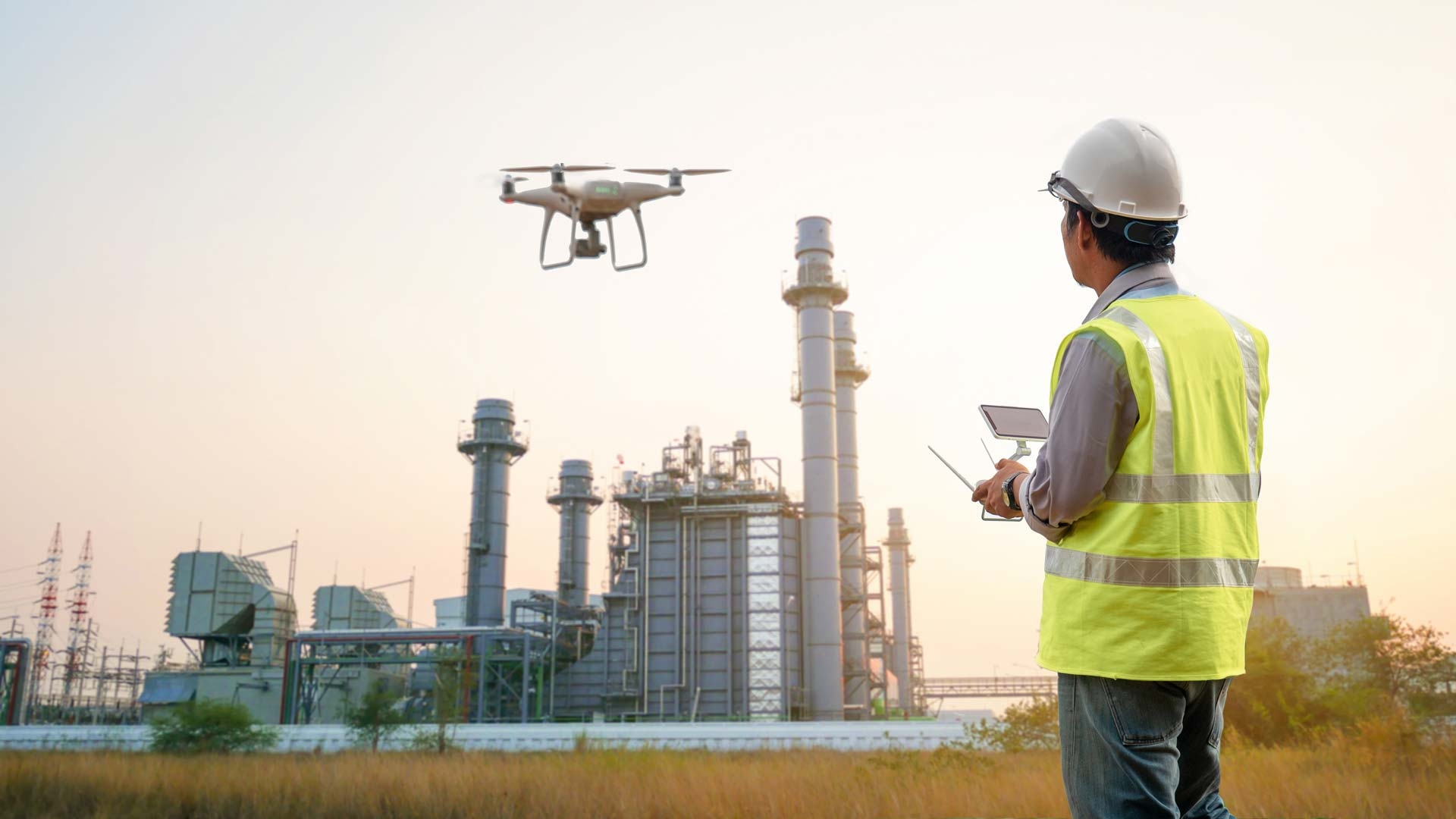 Drone Facility Inspection